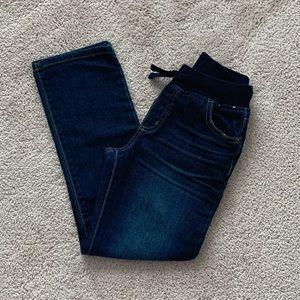Boys Size 8 Gymboree Bootcut Jeans - Stretch waist